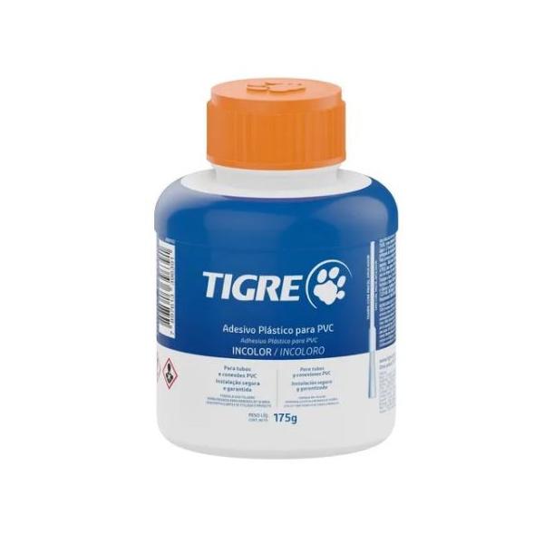 Adesivo Plástico Para PVC 175g / Com Pincel - Tigre