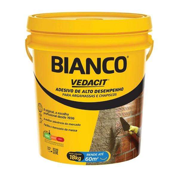 Bianco 18Kg Adesivo Para Argamassas E Chapiscos - Vedacit