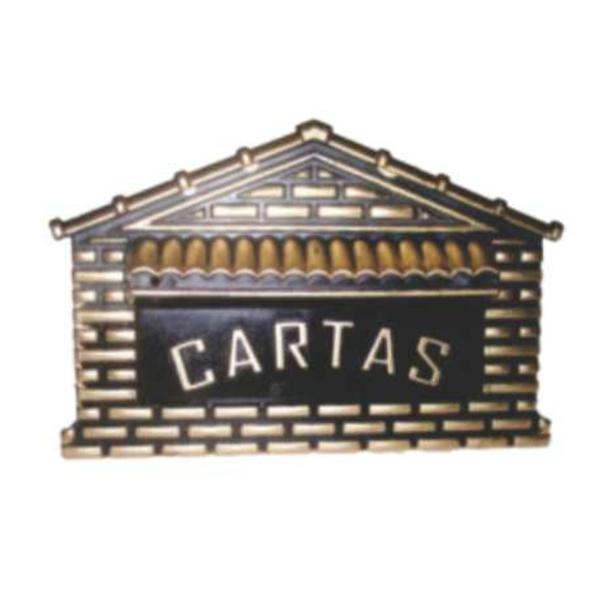 Caixa De Correio Universal Ouro Nº4 20cmX10cmX14cm - Fortral