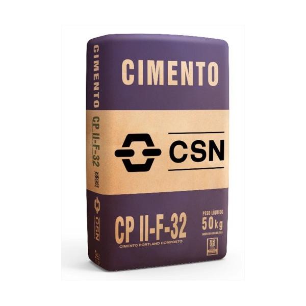 Cimento CSN CPII F 32 50kg