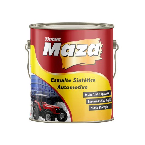 Esmalte Sintético Automotivo 3,6 Litros - Maza