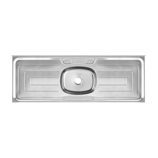 Pia de Cozinha Em Aço Inox Cinza 1,50m - Franke
