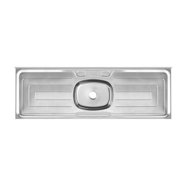 Pia de Cozinha Em Aço Inox Cinza 1,60m - Franke