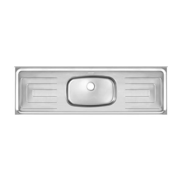 Pia de Cozinha Em Aço Inox Cinza 1,80m - Franke