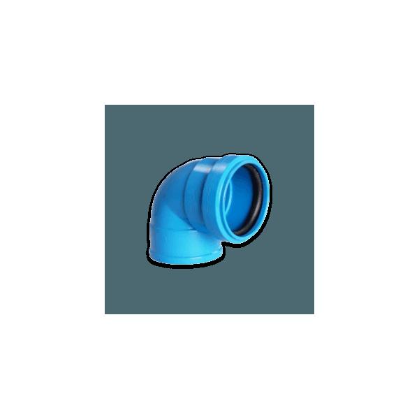 Joelho Azul 90° Para Esgoto c/ Anel de Vedação 40mm - Astra