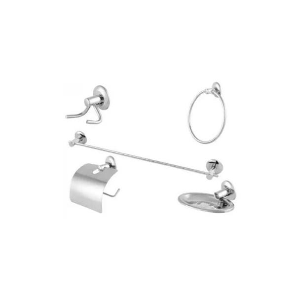 Kit Com 5 Acessórios Para Banheiro / Basic 3350 - Imperatriz