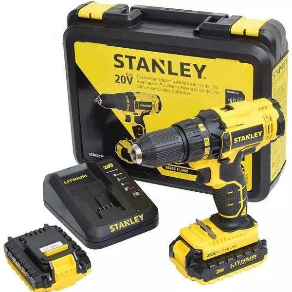 Parafusadeira / Furadeira de Impacto 20V / Bivolt - Stanley
