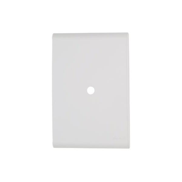 Placa com 1 Furo 9,5 mm 4x2 Liz Branca - Tramontina