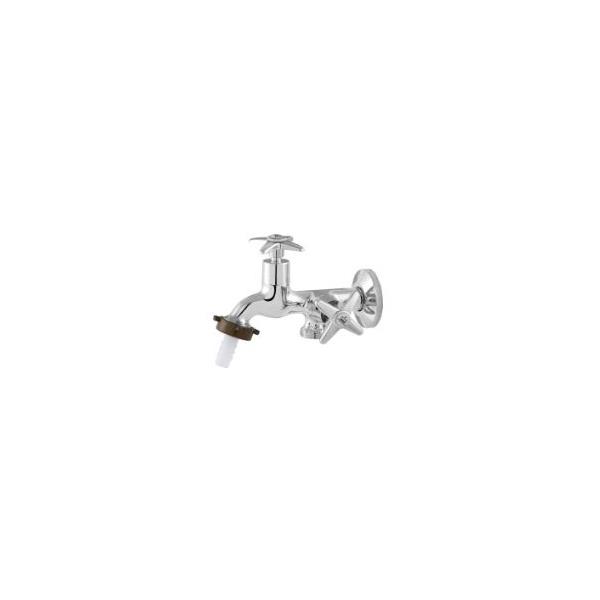 Torneira Tanque/máquina Metal Duas Saídas C23 1428 - Imperatriz
