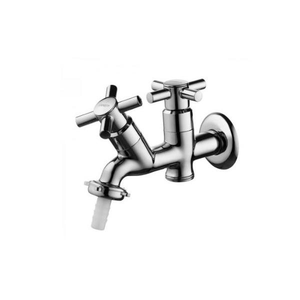 Torneira Tanque/máquina Metal Duas Saídas C64 1131-9 - Ruff