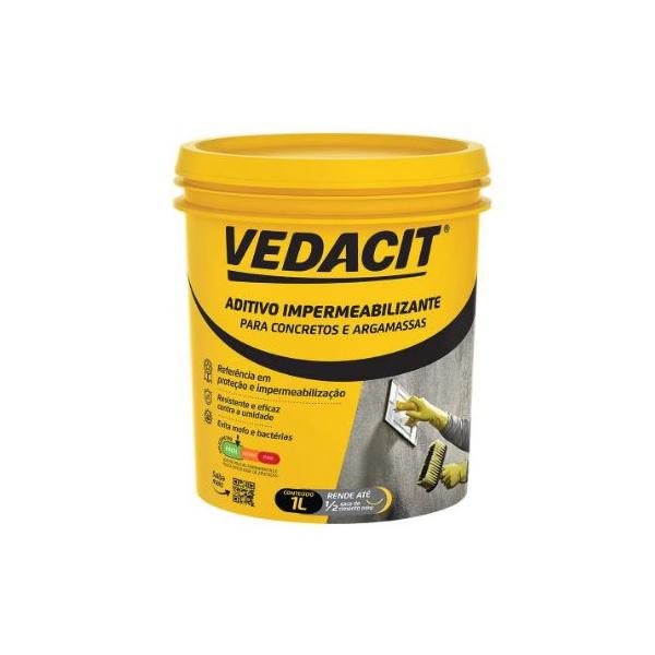 Aditivo Impermeabilizante 1L - Vedacit