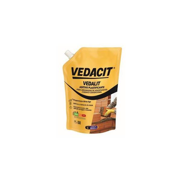 Aditivo Plastificante Vedalit 1L - Vedacit