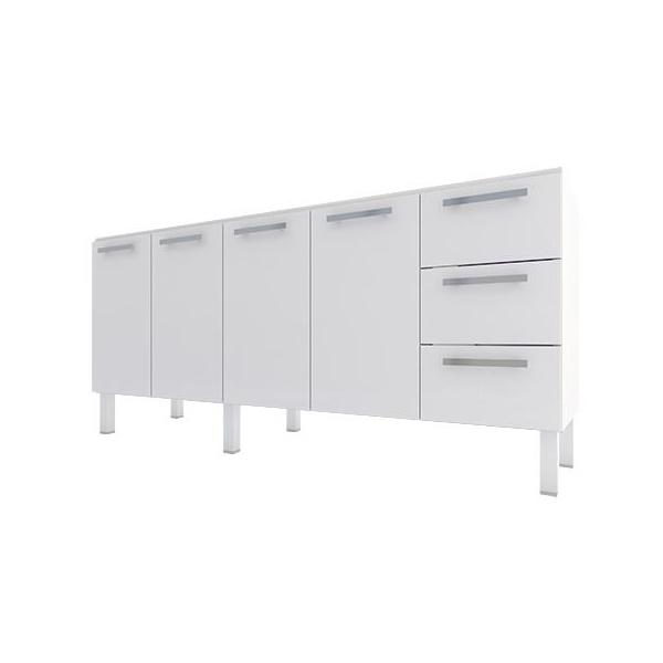 Gabinete De Cozinha Em Aço P/ Pia 1,8m Vênus Flat - Cozimax