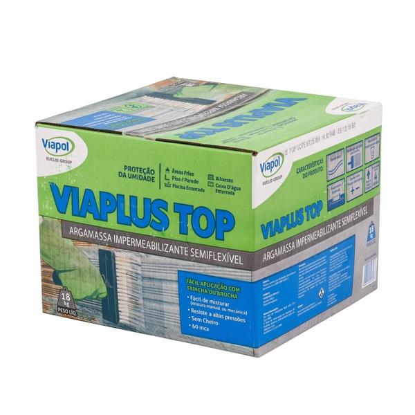 Impermeabilizante Viaplus Top - Viapol Caixa 18Kg