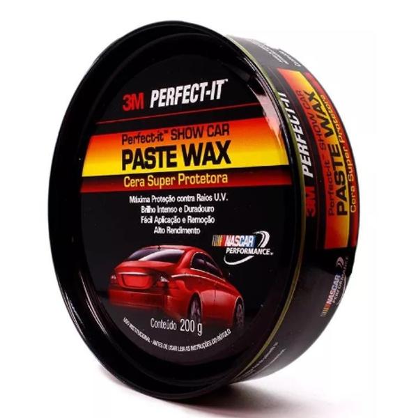 Cera de Polir Super Protetora Paste Wax 200g - 3M
