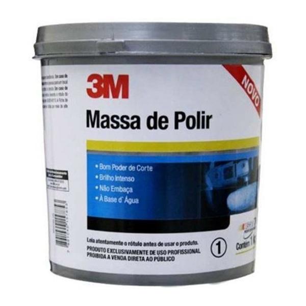 Massa de Polir N2 Base de Agua 1KG 3M
