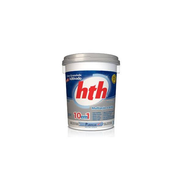 Cloro Aditivado Mineral Brilliance 10em1 1kg - HTH