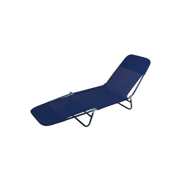 Espreguiçadeira Azul Marinho REF 2409 - MOR