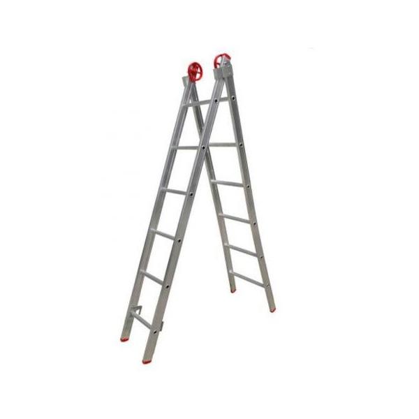 Escada Extensiva De Alumínio 6 Degraus - Agata