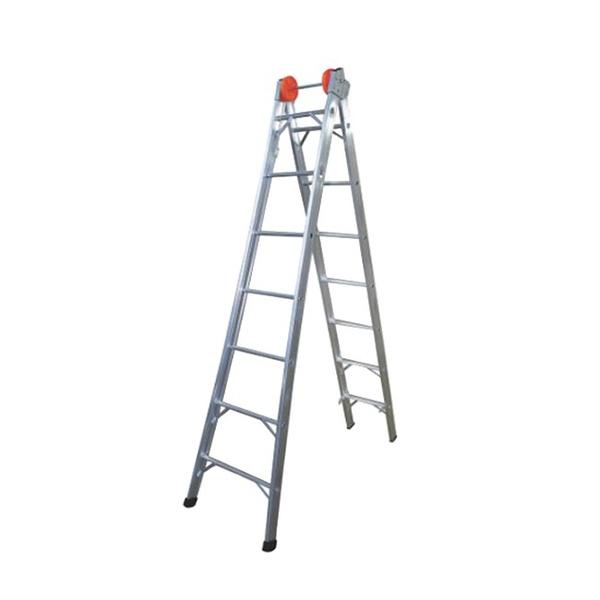 Escada Extensiva De Alumínio 7 Degraus de 2,6 à 3,8 metros - Agata