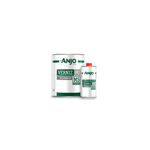 Kit Verniz PU 750ml + Endurecedor 225ml Carbon Médio Sólidos 5.1 - Anjo