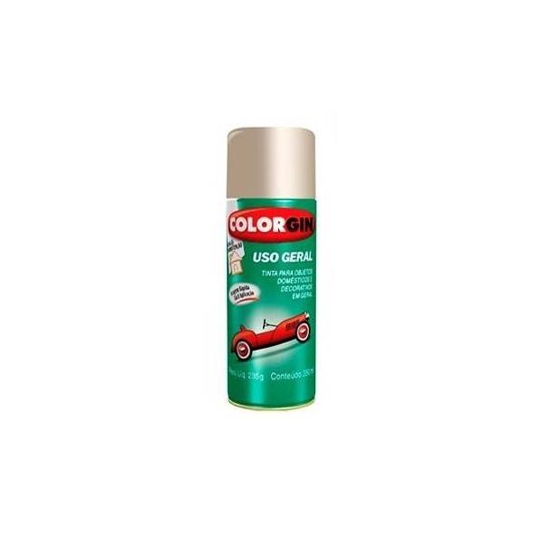 Spray 51001 Branco Rápido Liso Brilhante 350ml - Colorgin