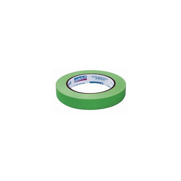 Fita Crepe Fina 18mmX40m Verde - Doble