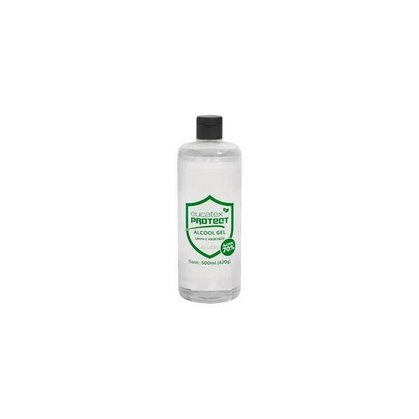 Álcool Gel 70% Antisséptico Eucatex Protect 420gr