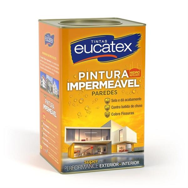 Tinta Impermeabilizante Branco Eucatex 18L