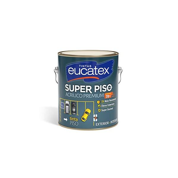 Tinta Piso Acrílica Fosco Eucatex 3,6L (Escolha Cor)