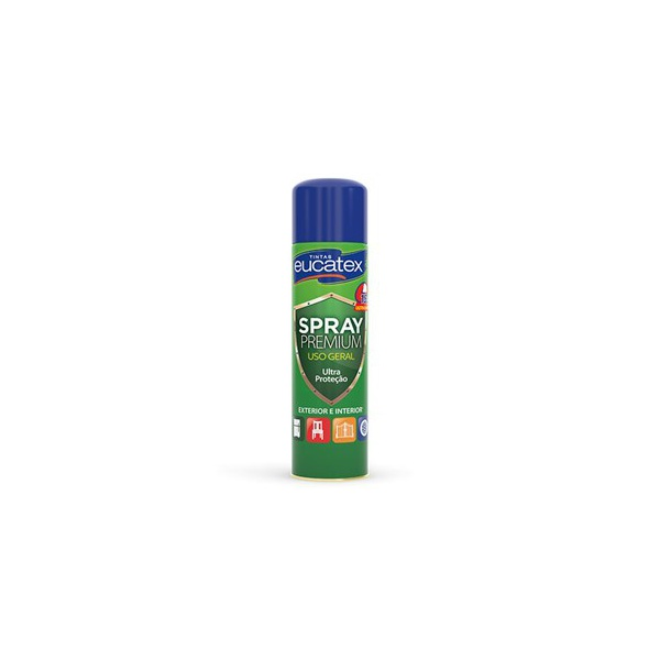 Spray Multiuso Metalico Eucatex 400ml - (Escolha Cor)