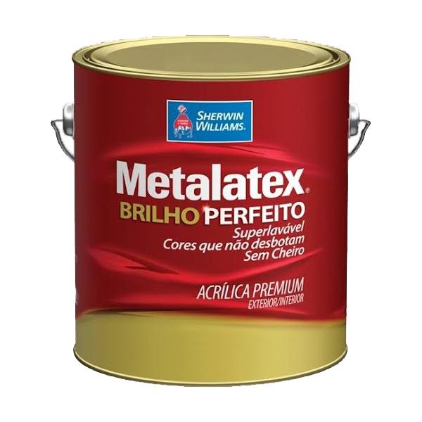 Tinta Acrílica Semi Brilho Metalatex 3,6L - (Escolha Cor)