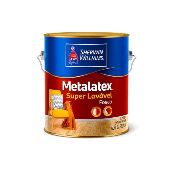 Tinta Acrílica Fosco Perfeito Metalatex 3,6L - (Escolha Cor)