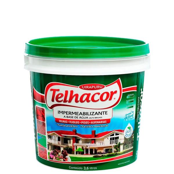 Resina Brilhante Incolor 3,6L - Telhacor
