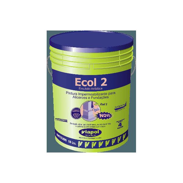 Impermeabilizante Viapol Eco 2 18L - Viapol