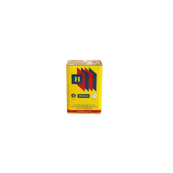 Tinta piso Sintético 18 Litros H-Tintas Grafite Escuro