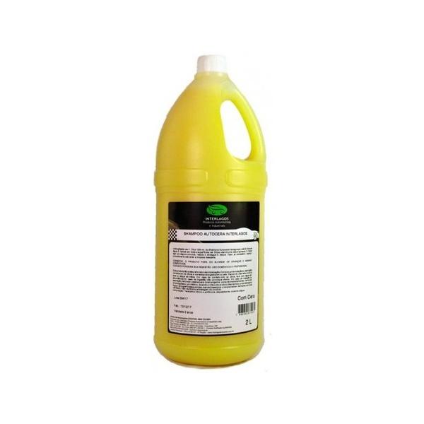 Shampoo Automotivo Concentrado 2 Litros 1/100 - Interlagos