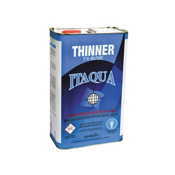Thinner para Limpeza 5 Litros - Itaquá 16