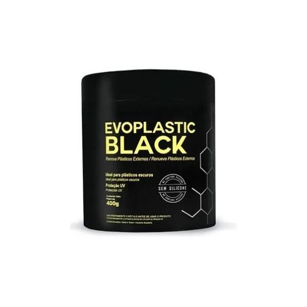 Revitalizador de Plásticos Pretos Evoplastic Black 400g - Evox