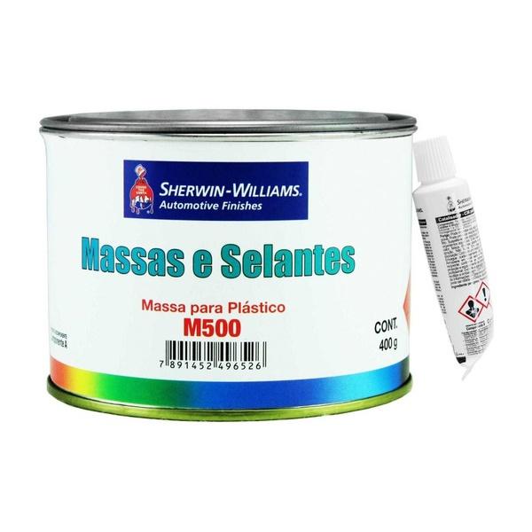 Massa para Plásticos M500 400gr Com Catalisador - Lazzuril