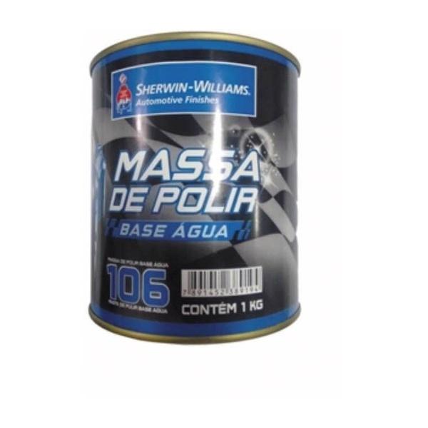 Massa de Polir N°2 Base de Agua 1kg 00106 - Lazzuril
