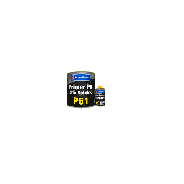 Kit Fundo Primer PU P51 750ml + Endurecedor H51 150ml Sherwin Williams Lazzuril