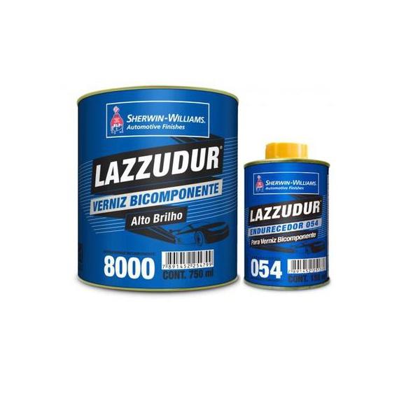 Verniz Pu bi-componente 0,75l 8000 kit+endurecedor 054