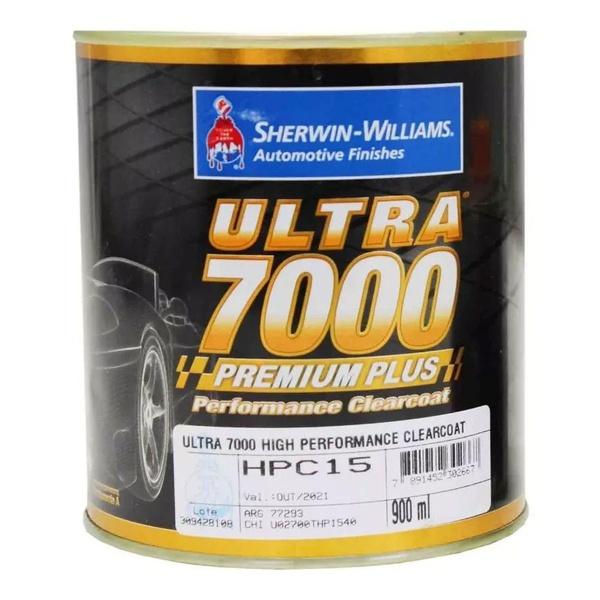Kit Verniz PU HPC15 900ml + Endurecedor UH40 180ml - ULTRA7000 Clearcoat Lazzuril Sherwin Williams