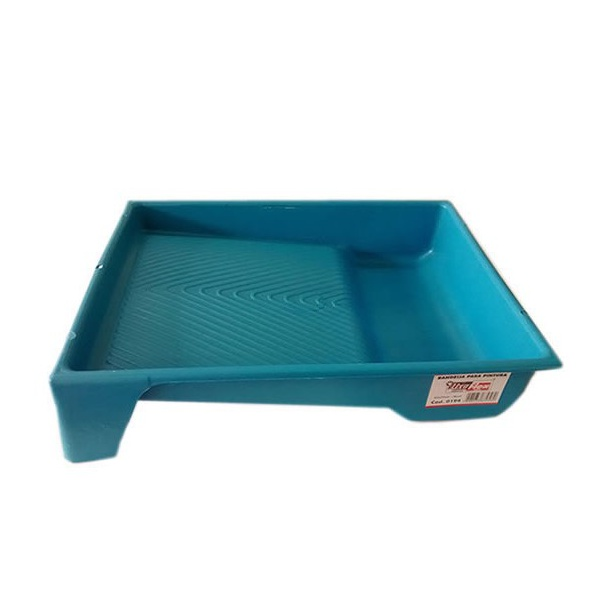 Bandeja Grande 23cm Azul 37x29cm - Lixa flex