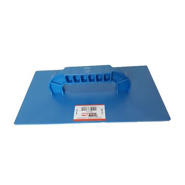 Desempenadeira Corrugada 14x27cm Azul - Lixa Flex