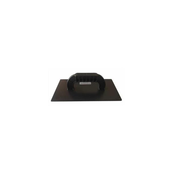 Desempenadeira PVC Lisa 16x29cm Preta - Lixa Flex