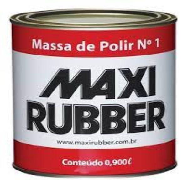 Massa de Polir N1 0,980kg - Maxi Rubber