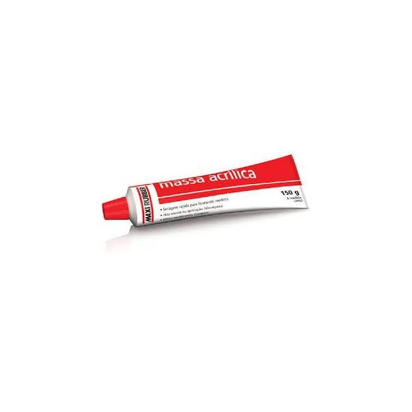 Massa Pequenas Correções 150gr - Maxi Rubber