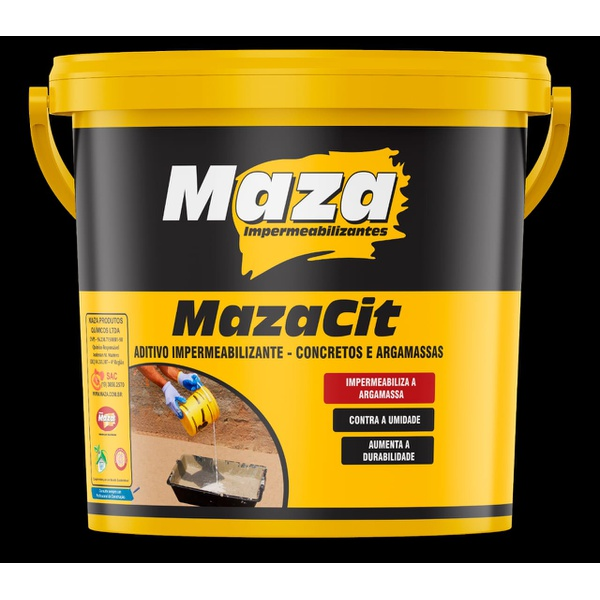 Impermeabilizante Cimento 18kg Mazacit